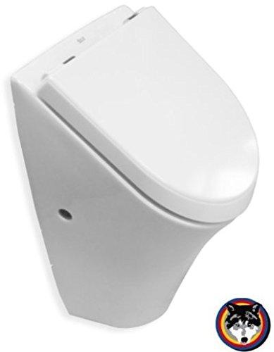 Roca NEXO Urinal Pissoir Absaugbecken mit Deckel weiss Softclose Maxiclean