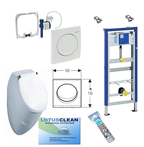 Geberit DuofixBasic Urinal Universal, Komplett-Set, Samba